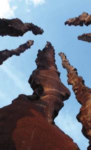 Opera dello scultore Toni Benetton inserita ne parco di villa dall'Aglio detta la Marignana
