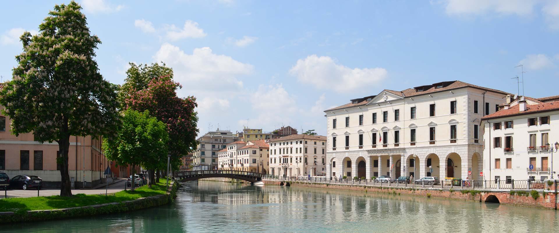 River Sile in Treviso